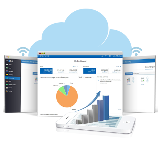 Prosoft ibiz โปรแกรมบัญชีออนไลน์ Cloud Accounting